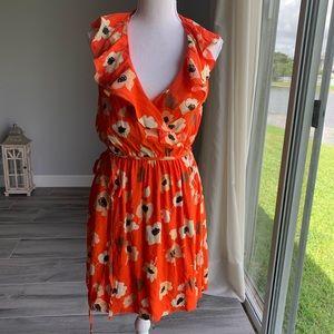 Zara wrap dress